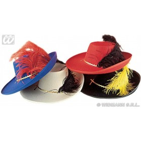 Musketeer Hat Child Felt - Fancy Dress (Musketeers)