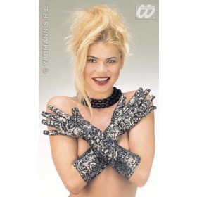Stretch Fancy Gloves - Fancy Dress