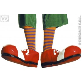 Neon Clown Socks 68Cm - Fancy Dress (Clowns)