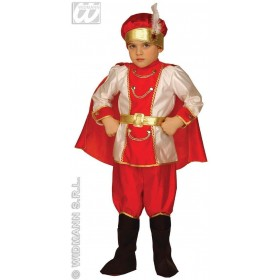Snow Prince - Coat, Pants W/Boot Covers Fancy Dress (Royalty)