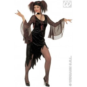 Spiderweb Mistress Adult Fancy Dress Costume Ladies (Halloween)
