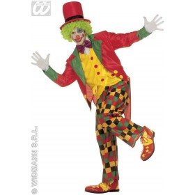 Clown Adult Fancy Dress Costume Mens (Clowns)