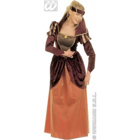 Medieval Queen Adult Fancy Dress Costume Ladies (Royalty)