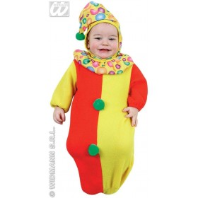 Baby Bunting Clown Fancy Dress Costume 0-9 Months (Clowns)