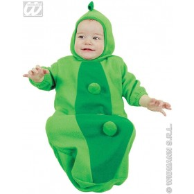Baby Bunting Pea In Pod Fancy Dress Costume 0-9 Months (Food)
