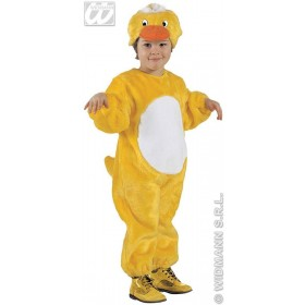 Plush Duck - Jumpsuit & Headpiece Costume Kids Age 3-4 (Animals)