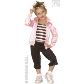 Jazz 50S Girl With Jacket, Shirt, Pants Fancy Dress (1950S)