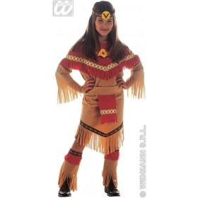 Ray Of Moonlight Costume Child Costume Girls (Cowboys/Indians)