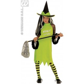 Magic Witch With Dress, Hat, 3 Col.Ass. Fancy Dress (Halloween)