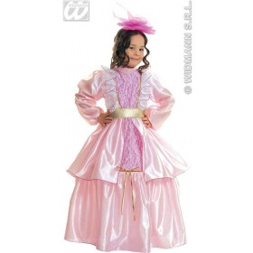 Little Lady Rose - Dress W/Wire Hoop, Belt, Fancy Dress