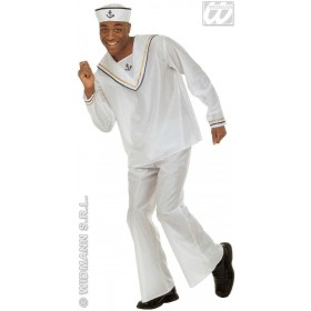 Sailor Adult Fancy Dress Costume Mens (Sailor)