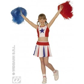 Cheerleader Costume Child Fancy Dress Costume Girls (Sport)