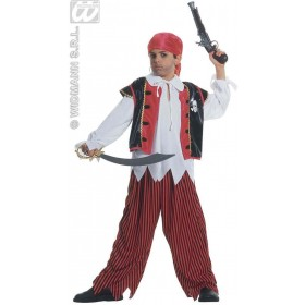 Treasure Island Pirate Child Fancy Dress Costume Boys (Pirates)