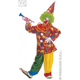 Funny Clown Child 128Cm Fancy Dress Costume Boys (Clowns)