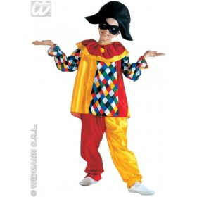 Harlequin Costume Child Fancy Dress Costume Boys (Clowns)
