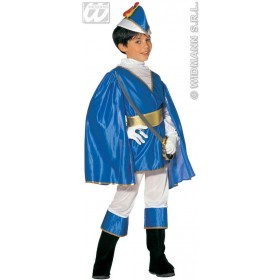 Blue Prince Child Costume Fancy Dress Costume (Royalty)
