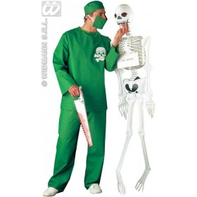 Surgeon Costume Adult Promotional Fancy Dress Costume (Doctors/Nurses)