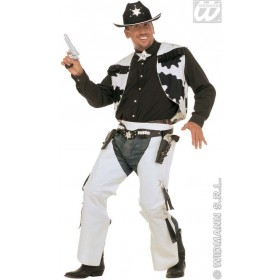 Rodeo Cowboy Adult Fancy Dress Costume Mens (Cowboys/Indians)
