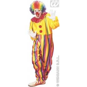 Circus Clown Adult Fancy Dress Costume Mens (Clowns)