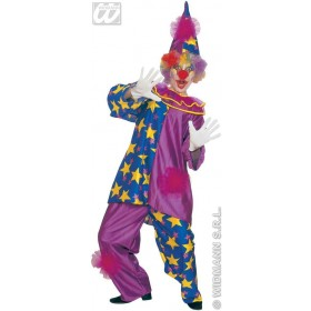 Star Clown Adult Fancy Dress Costume Mens (Clowns)
