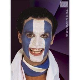 Tricolour Makeup Black/White/Blue - Fancy Dress