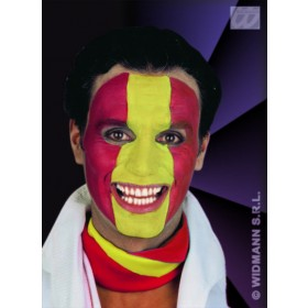 Tricolour Makeup Black/Red/Yellow - Fancy Dress