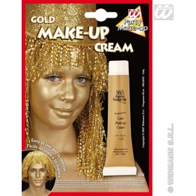 Gold Make Up In Tube - Fancy Dress