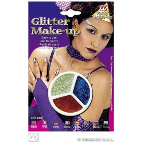 Tri Glitter Makeup 4Colours - Fancy Dress