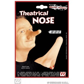 Theatrical Nose With Adhesive - Fancy Dress