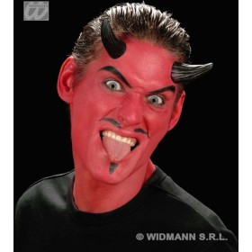 Sfx Devil Horns Black - Fancy Dress (Halloween)