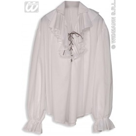 Pirate Shirt Ladies White Fancy Dress Costume (Pirates)