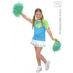 Cheerleader Child Costume Fancy Dress Costume (Sport)
