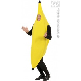 Banana Adult Fancy Dress Costume (Food)