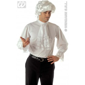 Xl Character Shirt W/Jabot /Cuffs Fancy Dress Costume