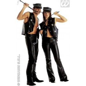 Studded Waistcoat Fancy Dress Costume