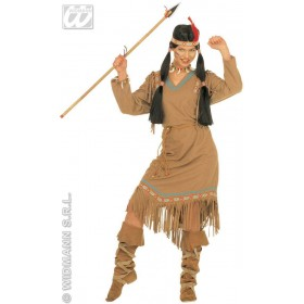 Cheyanne Adult Dress W/Belt/Headband Costume Ladies