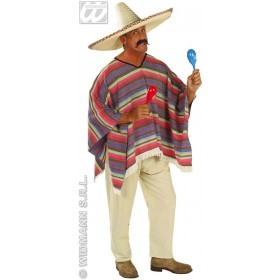 Mexican Poncho Fancy Dress Costume (Cultures)
