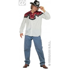 Country Style Shirt Fancy Dress Costume