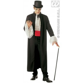 Dracula Coat & Jabot & Wristbands Costume (Halloween)