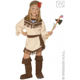 Native Indian Girl Costume Age 4-5 Girls (Cowboys/Indians)