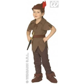 Elf - Coat, Pants, Belt, Shoe Covers, Hat Fancy Dress (Christmas)