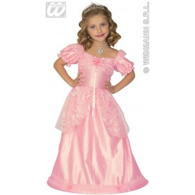 Pink Princess & Dress & Wire, Hoop Fancy Dress Age 4-5 (Royalty)