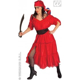 Caribbean Wench Adult Fancy Dress Costume Ladies (Pirates)