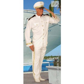 Captain Adult Fancy Dress Costume Mens (Sailor)