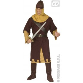 Medieval Soldier Adult Fancy Dress Costume Mens (Army)