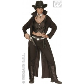 Bounty Killer Lady Adult Fancy Dress Costume Ladies (Cowboys/Indians)