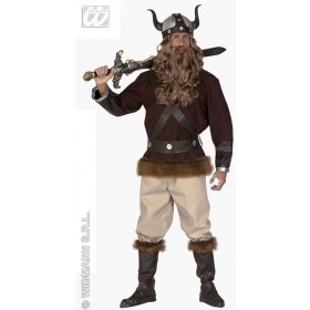 Viking Velkan Adult Fancy Dress Costume Mens (Viking)