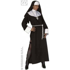 Deluxe Nun Adult Fancy Dress Costume Ladies (Vicars/Nuns)