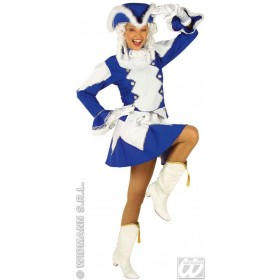 Majorette With Jacket, Skirt, Hat, 2 Cols.Asstd Costume
