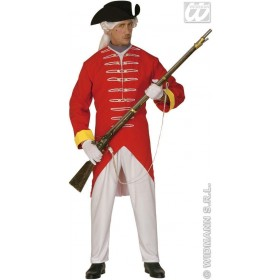 French Soldier Adult Fancy Dress Costume Mens (Army , French)